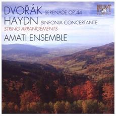 Dvorak Antonin - Serenata Op. 44 (arr. Per Due Quartetti D'archi, E Contrabbasso)