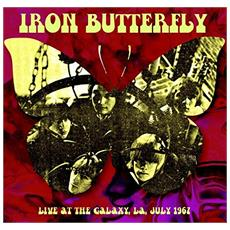 Iron Butterfly - Live At The Galaxy La, July 1967