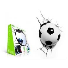 Pallone Calcio Lampada da muro