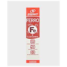 Ferro + c, e, beta carotene 20 compresse effervescenti neutro