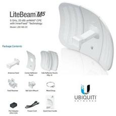Litebeam M5 Lbe-m5-23 - Cpe Access Point Outdoor Poe 5ghz 23dbi
