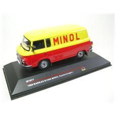 Ist077 Barkas B1000 Minol Kastenwagen 1960 1:43 Modellino