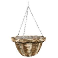 Vaso Basket In Rattan 30 Cm