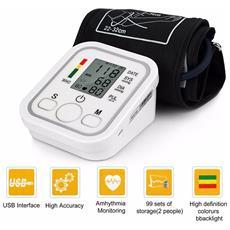 Misuratore Di Pressione Da Braccio Automatico Sfigmomanometro Aritmia