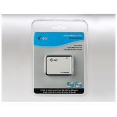 USBALL3, CF, Memory Stick (MS) , MicroDrive, MMC, MS Duo, MS PRO, MS PRO Duo, SD, SDHC, SDXC, xD, USB 2.0, Microsoft Windows ME / 2000 / XP / Vista / 7, Mac OS 10.1.2