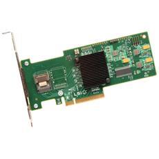 Controller SAS LSI Logic MegaRAID 9240-4i - Serial ATA / 600 - PCI Express 2.0 x8 - Plug-in Card - Supporto RAID - 0, 1, 5, 10, 50, JBOD Livello RAID - 1 Total SAS Port (s) - 1 SAS Port (s) Internal