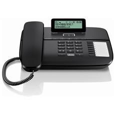 Telefono Base DA710 con Vivavoce colore Nero