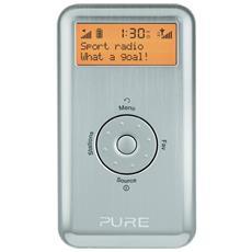 61855 Move 2500 Silver Radio D