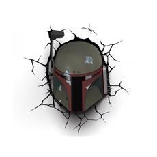 Star Wars Boba Fett Lampada da muro on timer
