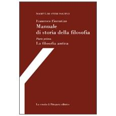 Manuale di storia della filosofia (4 voll. indiv.)