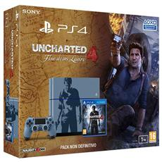 SONY - PS4 1TB + Dualshock 4 +Uncharted 4, PlayStation 4,...