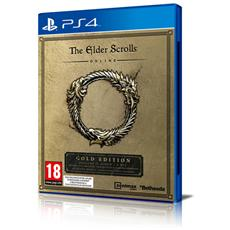 PS4 - The Elder Scrolls Online Gold Edition