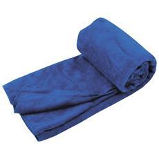 Ts3101 Asciugamano Di Spugna In Microfibra L Blu Reale