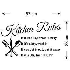 Sticker Adesivo 3d - Kitchen