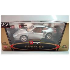 Modellino Auto - Porsche 911 Turbo 1999 - Grigio - Cod 3369 - Scala 1:18