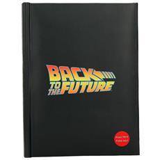 Bttf Logo Light Up Notebook Taccuino
