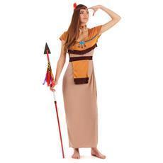 Costume Da Indiana Per Donna Large