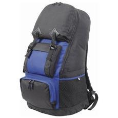 Maxi Zaino Per Escursionismo (75l) (taglia Unica) (nero / blu Reale)