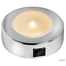 Plafoniera Sun 10 LED cromato
