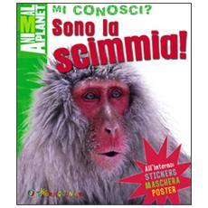Sono la scimmia! Con gadget