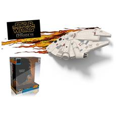 Star Wars Millennium Falcon Lampada da muro on timer
