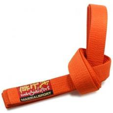 Cintura Arti Marziali Colorata 3 Arancio