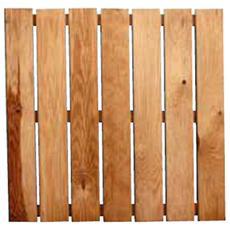 Pedana antiscivolo in legno di pino impregnato in autoclave