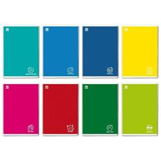 Maxi Quaderno Colorface A4 10 Pezzi