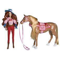 Sissi Bambola con Cavallo