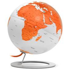 Mappamondo Luminoso I-globe Light Orange, Arancione