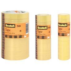 torre 8 rt nastro adesivo scotch 508 19mmx33m in ppl