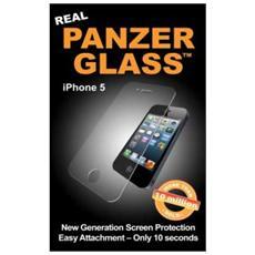 Protezione antischeggiatura di vetro, iPhone 5, 5S, 5C