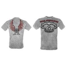 Knuckles' - Ul13 Grey Vintage (T-Shirt Unisex Tg. S)