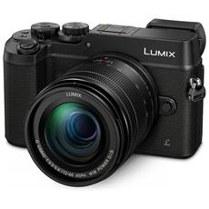 "Lumix DMC-GX8EG Nero Kit 12-60 mm F / 3.5-5.6 Sensore Live MOS 20.3Mpx Display 3"" Filmati Ultra HD 4K Wi-Fi / NFC"