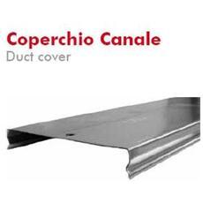 Coperchio Canale 50x20mm L= 2m Sendzimir