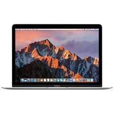"MacBook Monitor Retina 12"" Intel Core m3 1.2 GHz Ram 8GB SSD 256GB 1xUSB 3.1 OS X - Argento"