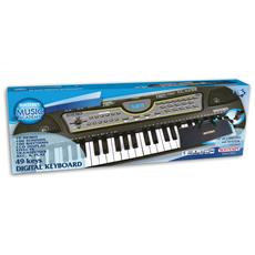 15 4909 - Tastiera 49 Tasti, Passo Medio (Do-Do), 100 Suoni, 100 Ritmi, 10 Demosong