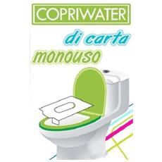 Set Di 20 Copriwater Da Bagno Igienici Carta Monouso Copri Water