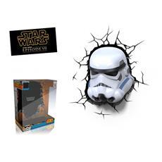 Star Wars Stormtroopers 3D FX Deco Light Lampada da muro on timer