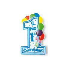 Candela Il Mio 1° Compleanno Azzurra