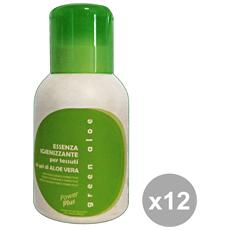 Set 12 Essenza Igienizzanti Green Aloe 200 Ml. Detergenti Casa