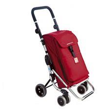 Carrello Portaspesa con Tasca Termica - Modello Go Up Rosso