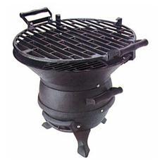 Barbecue a legna o carbone corpo in ghisa per esterno