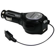 Caricabatterie USB e MicroSD da Auto