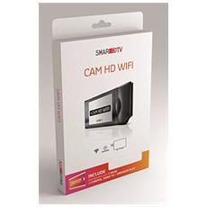 Cam HD Wi-Fi Colore Nero