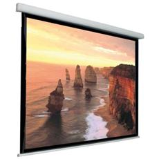 """Schermo di proiezione ITB AMLI453584 - Elettrico - 16:9 - Montaggio a muro, Montaggio a soffitto - 130 cm (51,2"""") x 230 cm (90,6"""") - Cloruro di polivinile (PVC)"""