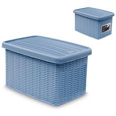 "Scatola Chius 29x19x16 Elegance Blu""av Sistemazione"