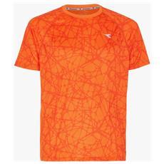 T-shirt Uomo Bright M Arancio