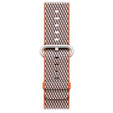 38MM SPICY ORANGE CHECK WOVE