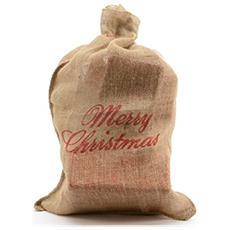 Sacco Regali Natale Cm. 90 Juta